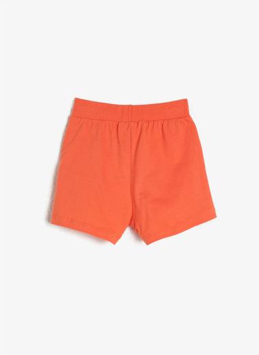 Koton Kids Şort Oranj